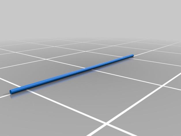 3D打印 铅笔套 铅笔盒 尺子