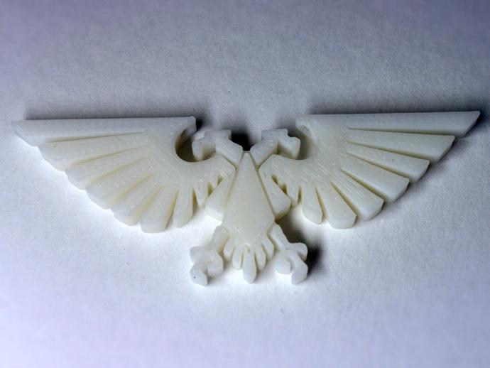 飞鹰项链 3D打印模型渲染图