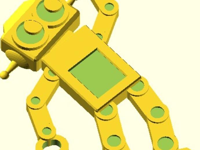 机器人吊坠