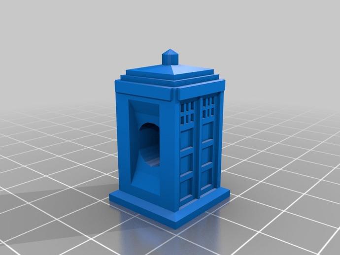 时光机 戒指 3D打印模型渲染图