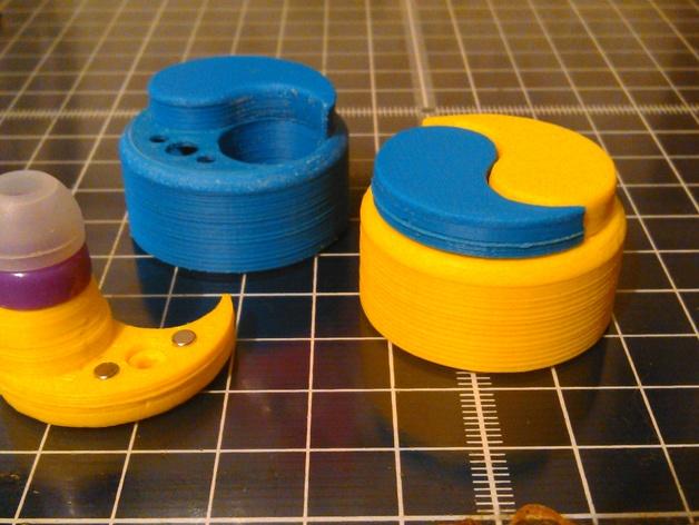 立体声无线耳机 3D打印模型渲染图