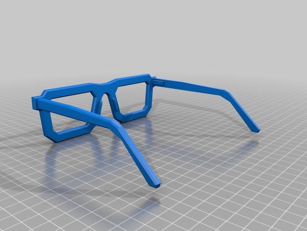 书呆子眼镜