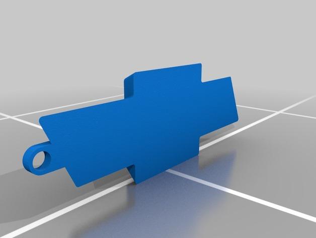 雪佛兰标志 领结 3D打印模型渲染图