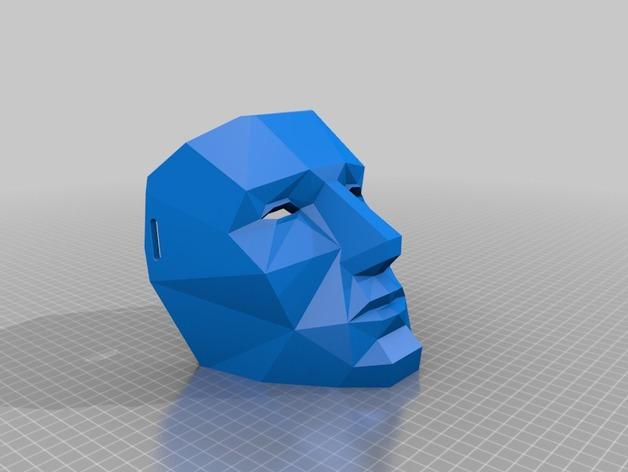 LED低面数 面具