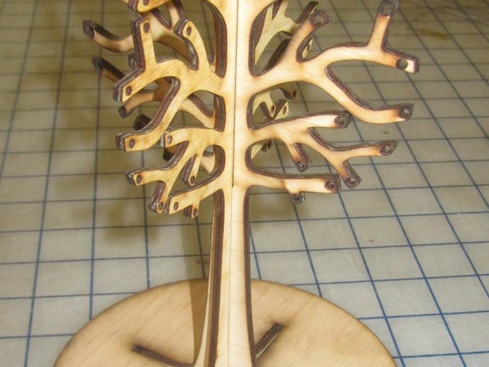 桦树首饰架
