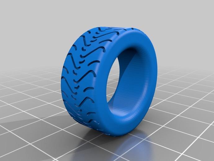 轮胎形 戒指