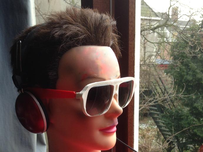 3D打印眼镜