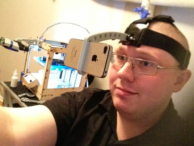 iPhone GoPro头戴式支架