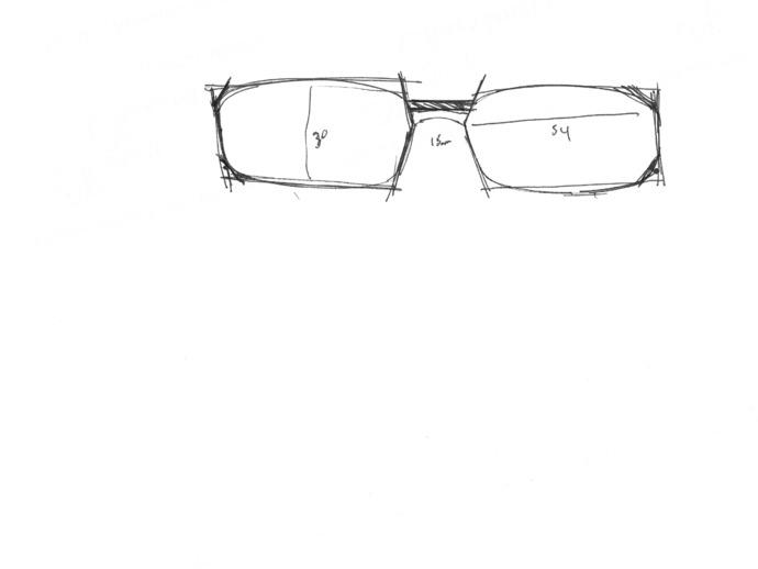 3D眼镜 眼镜框