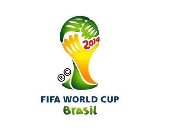 世界杯标志 钥匙坠 3D打印模型渲染图