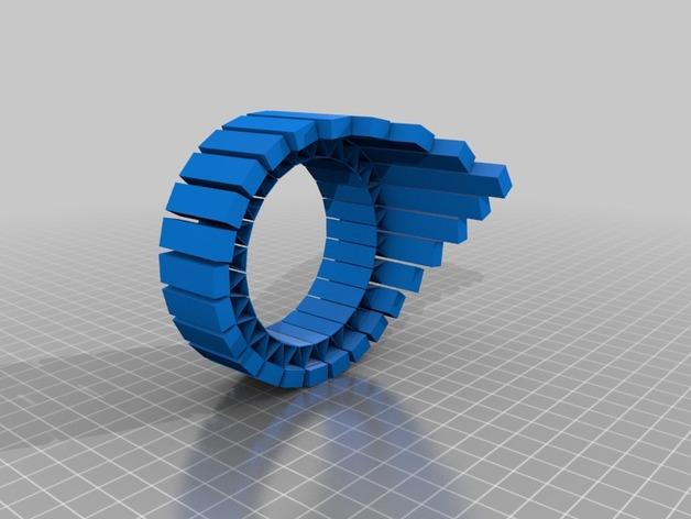皇冠  3D打印模型渲染图
