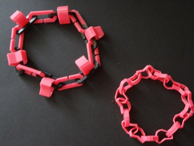心形手链 3D打印模型渲染图