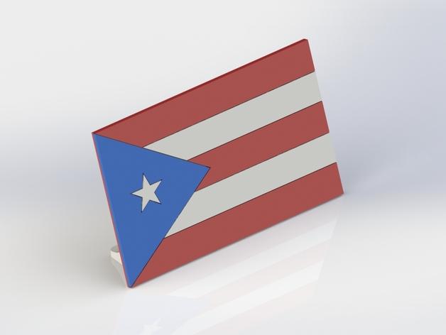 波多黎各国旗 摆件