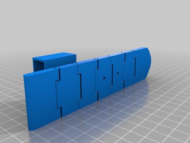 皮带 3D打印模型渲染图