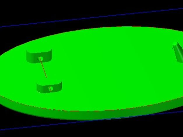 Borderlands 无主之地 皮带扣 3D打印模型渲染图