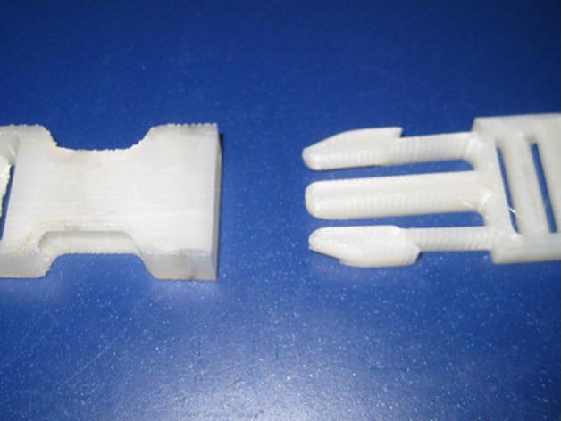 皮带卡扣 3D打印模型渲染图
