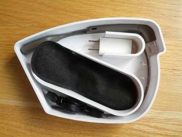 谷歌眼镜眼镜盒 3D打印模型渲染图