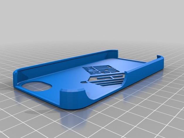 神秘博士 Iphone 4手机保护套 3D打印模型渲染图