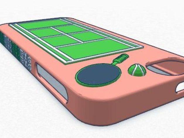 网球 iPhone5手机壳