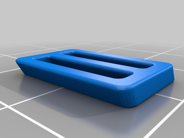 肩带扣 3D打印模型渲染图
