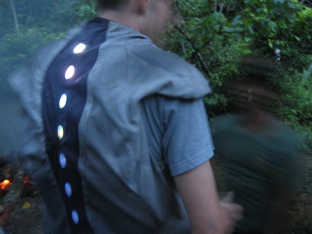 LED剑龙棘 恐龙服装