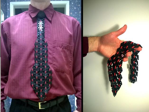 3D打印 领带 3D打印模型渲染图