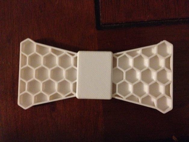 蝴蝶领结 3D打印模型渲染图