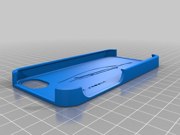 Tesla汽车iphone 手机壳 3D打印模型渲染图