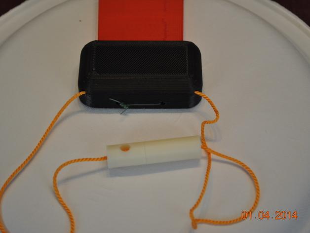 绳索插塞接头 绳索扣 3D打印模型渲染图