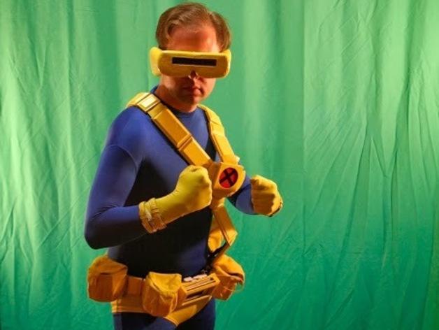 独眼巨人腰带 3D打印模型渲染图
