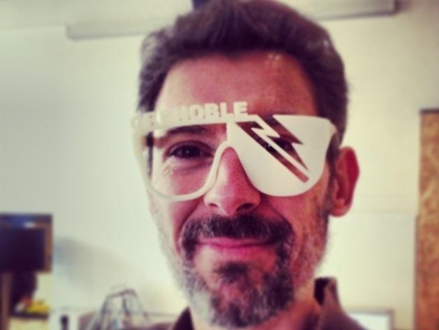派对眼镜 3D打印模型渲染图