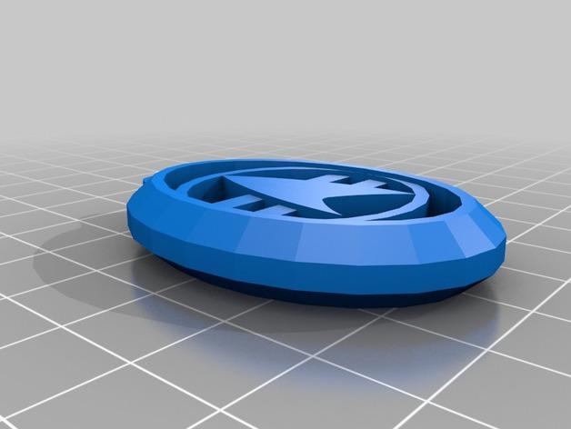 星际迷航钥匙扣 3D打印模型渲染图