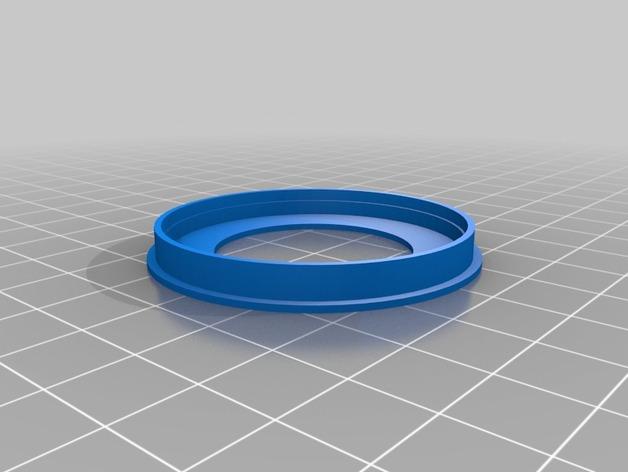 夜视镜眼镜环 3D打印模型渲染图