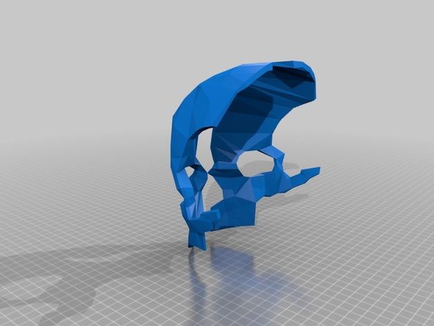 科尔武面具 3D打印模型渲染图