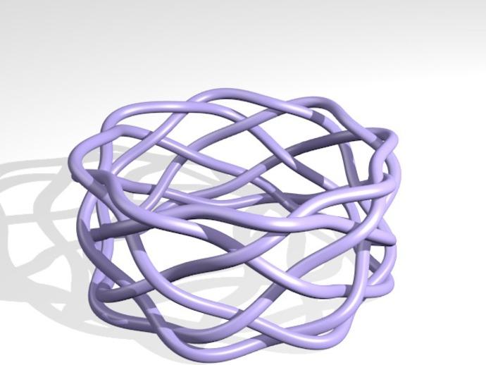 宽手镯 3D打印模型渲染图