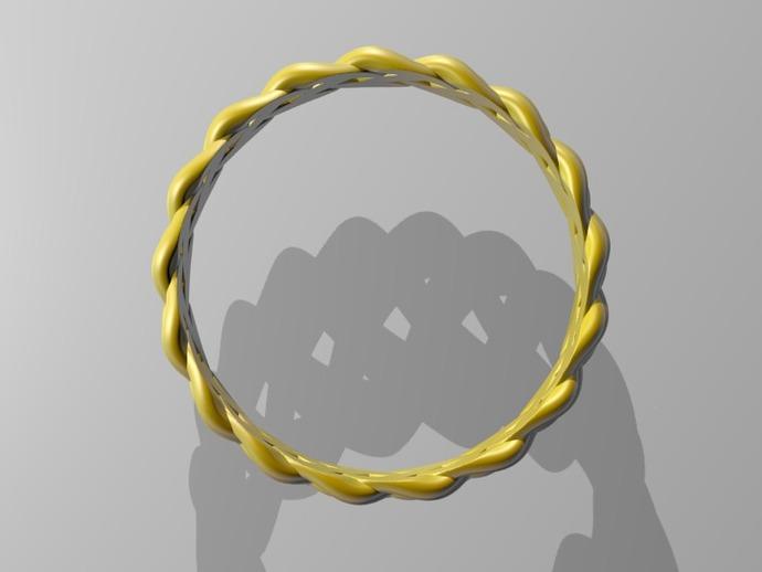 麻花辫手环