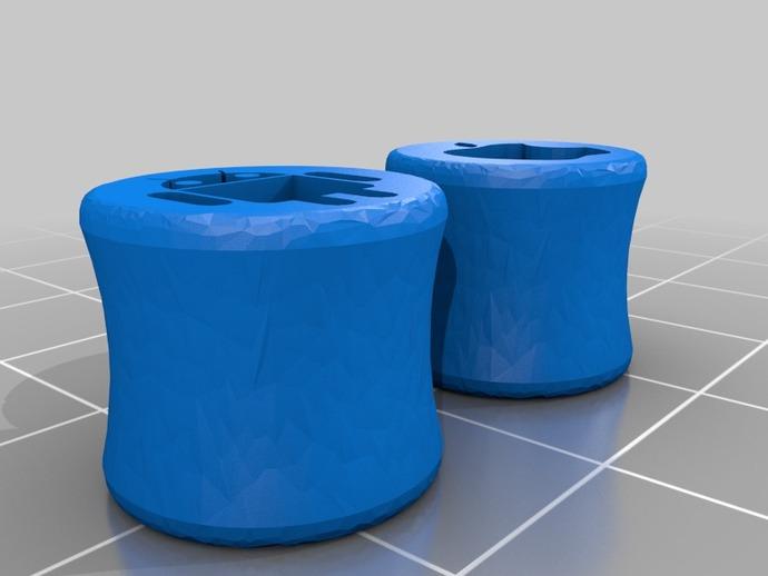 苹果/安卓耳塞 3D打印模型渲染图