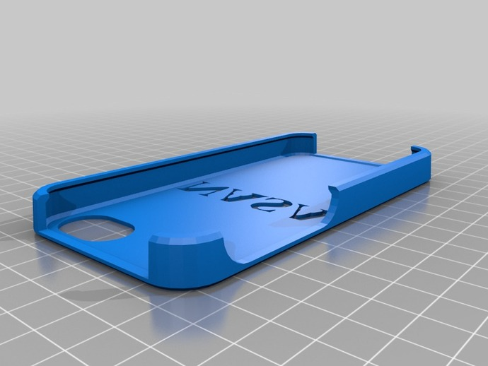 NASA iPhone 手机壳 3D打印模型渲染图