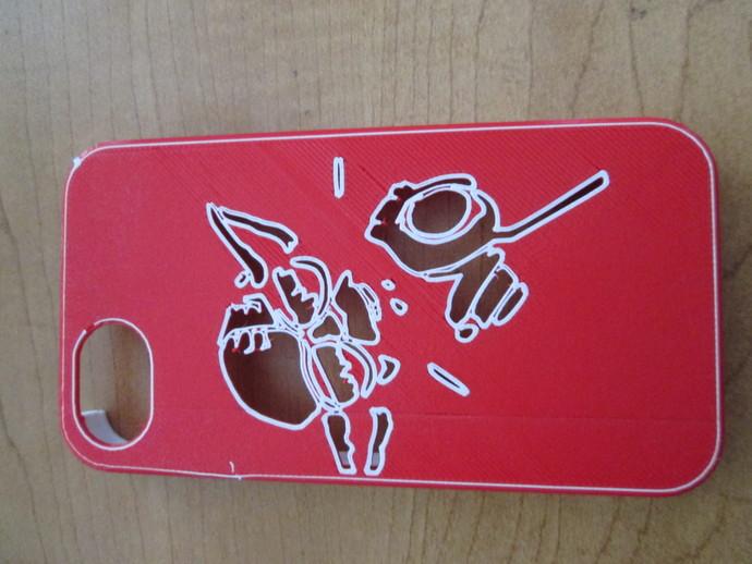 尤达大师iPhone4s手机套