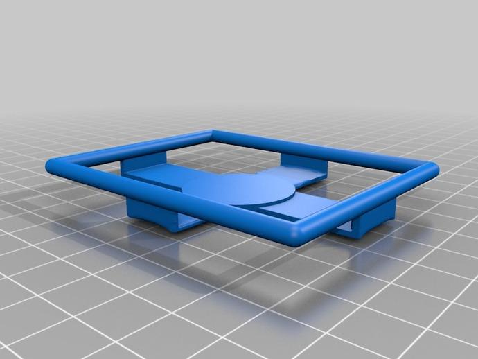固定夹 3D打印模型渲染图