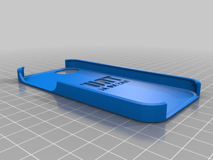 iPhone 5外壳 3D打印模型渲染图