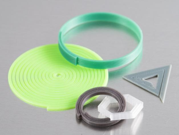 定制螺旋器 3D打印模型渲染图