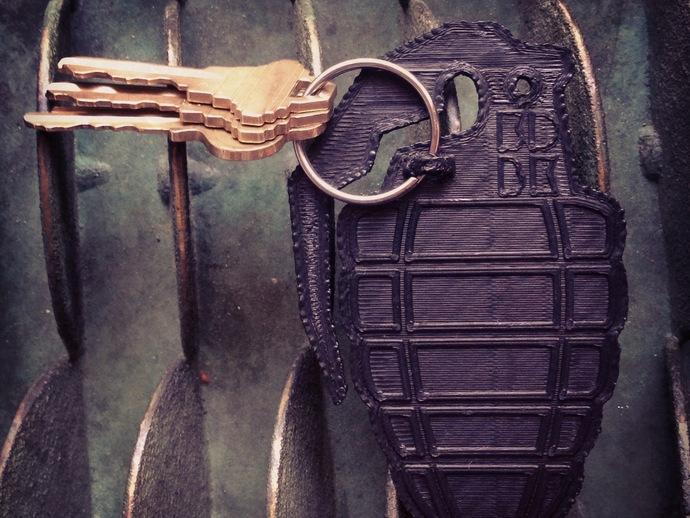 手榴弹钥匙扣