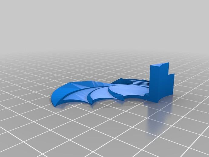 邪神 之翼 3D打印模型渲染图