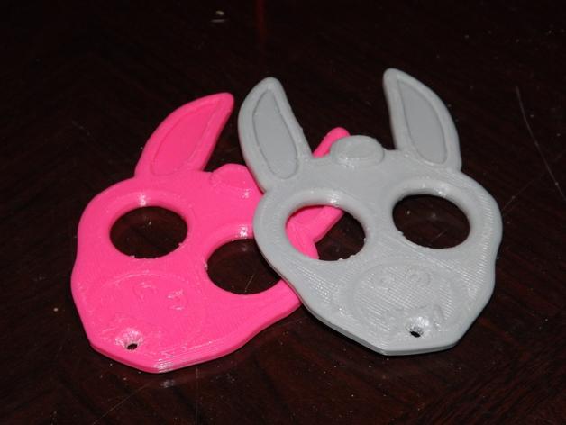驴头项链 3D打印模型渲染图