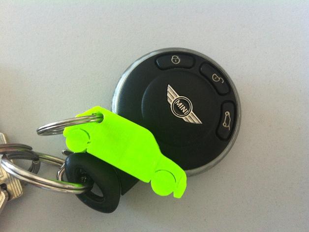 Mini Cooper钥匙链
