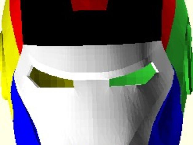 钢铁侠头盔
