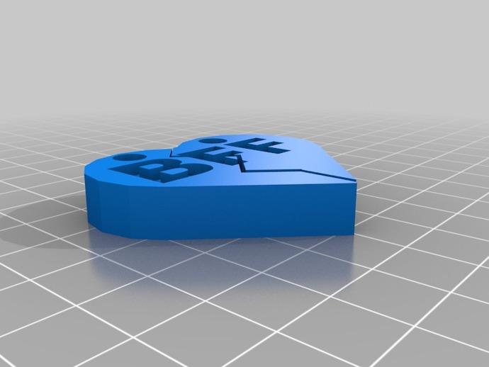 绝交项链 3D打印模型渲染图
