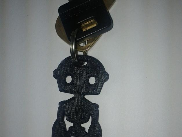 人形钥匙链