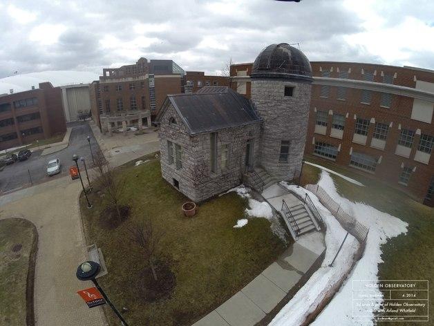 霍尔顿天文台 3D打印建筑